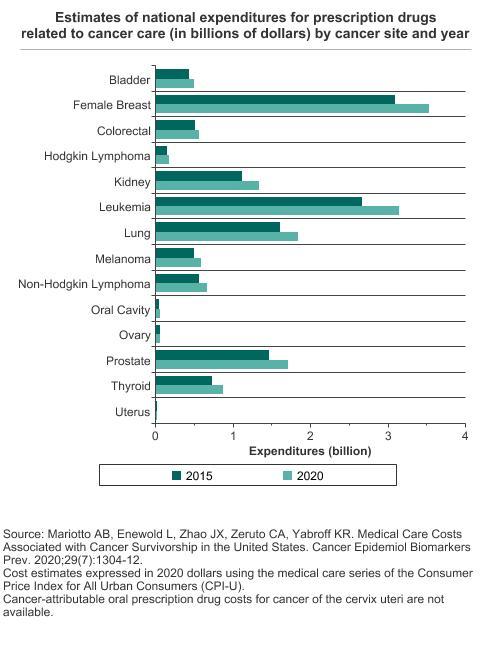 Financial Burden Of Cancer Care Cancer Trends Progress Report